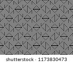 seamless pattern with striped... | Shutterstock .eps vector #1173830473