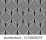 seamless pattern with striped... | Shutterstock .eps vector #1173830479