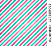 christmas red green white line... | Shutterstock .eps vector #1173859033