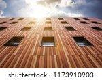 school building. exterior view... | Shutterstock . vector #1173910903