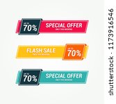 Special Offer Tag Banner