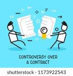 vector business illustration of ... | Shutterstock .eps vector #1173922543