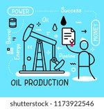 vector business illustration of ... | Shutterstock .eps vector #1173922546