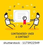 vector business illustration of ... | Shutterstock .eps vector #1173922549