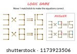 logic game for kids. puzzle... | Shutterstock .eps vector #1173923506