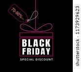 black friday sale design... | Shutterstock .eps vector #1173929623