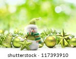 Snowman And Christmas...