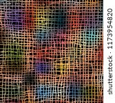 hand drawn marker lines based... | Shutterstock .eps vector #1173954820