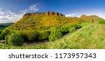 arthur's seat   hill in city... | Shutterstock . vector #1173957343