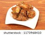 sauce pork ribs | Shutterstock . vector #1173968410