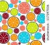 fruit design seamless pattern.... | Shutterstock .eps vector #117397036