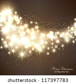 elegant christmas background... | Shutterstock .eps vector #117397783