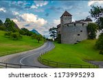 vaduz  liechtenstein  august... | Shutterstock . vector #1173995293
