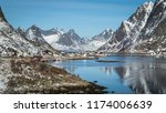 norway  march 10  2018   a... | Shutterstock . vector #1174006639