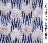 fingerprint chevron motif... | Shutterstock . vector #1174029490