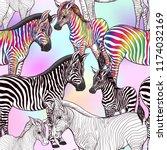 seamless pattern  background ... | Shutterstock .eps vector #1174032169