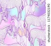 seamless pattern  background ... | Shutterstock .eps vector #1174032190