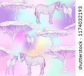 seamless pattern  background ... | Shutterstock .eps vector #1174032193