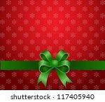 christmas background green... | Shutterstock .eps vector #117405940