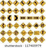 traffic signs | Shutterstock . vector #117405979