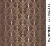 art deco pattern. seamless... | Shutterstock .eps vector #1174061566