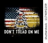 Don't Tread On Me Military...