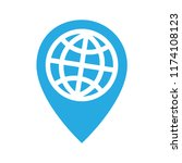 travel around the globe ... | Shutterstock .eps vector #1174108123