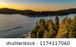 aerial view of lake arrowhead... | Shutterstock . vector #1174117060