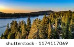 aerial view of lake arrowhead... | Shutterstock . vector #1174117069