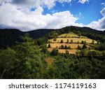 beautiful view on landscape of... | Shutterstock . vector #1174119163