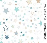 seamless vector repetitive... | Shutterstock .eps vector #1174125769