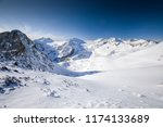 view of alps from presena...   Shutterstock . vector #1174133689