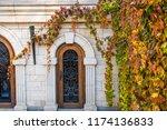 the mezhyhirya national park in ...   Shutterstock . vector #1174136833