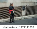 paris  france   october 7  2016 ... | Shutterstock . vector #1174141390