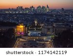 paris  france   october 6  ... | Shutterstock . vector #1174142119