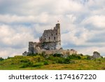 view of the beautiful ruined...   Shutterstock . vector #1174167220