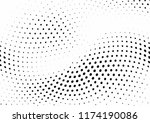 abstract halftone wave dotted... | Shutterstock .eps vector #1174190086