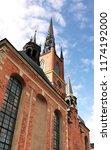church of riddarholmen in... | Shutterstock . vector #1174192000