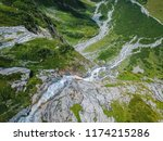 aerial view from the drone.the... | Shutterstock . vector #1174215286