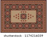 image of a luxurious old... | Shutterstock .eps vector #1174216039