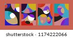 vector abstract colorful...   Shutterstock .eps vector #1174222066