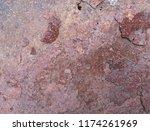 iron rust  steel rust  steel...   Shutterstock . vector #1174261969