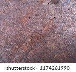 iron rust  steel rust  steel...   Shutterstock . vector #1174261990