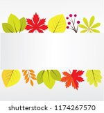 vector illustration of fall ... | Shutterstock .eps vector #1174267570