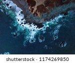 northern california coast | Shutterstock . vector #1174269850