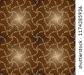 ornamental damask pattern... | Shutterstock .eps vector #1174285936