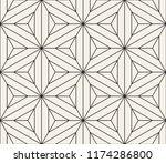 vector seamless pattern. modern ... | Shutterstock .eps vector #1174286800