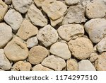 background made of natural... | Shutterstock . vector #1174297510