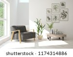 inspiration of white minimalist ... | Shutterstock . vector #1174314886