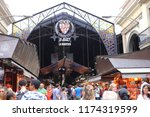 entrance of the mercat de sant... | Shutterstock . vector #1174319599